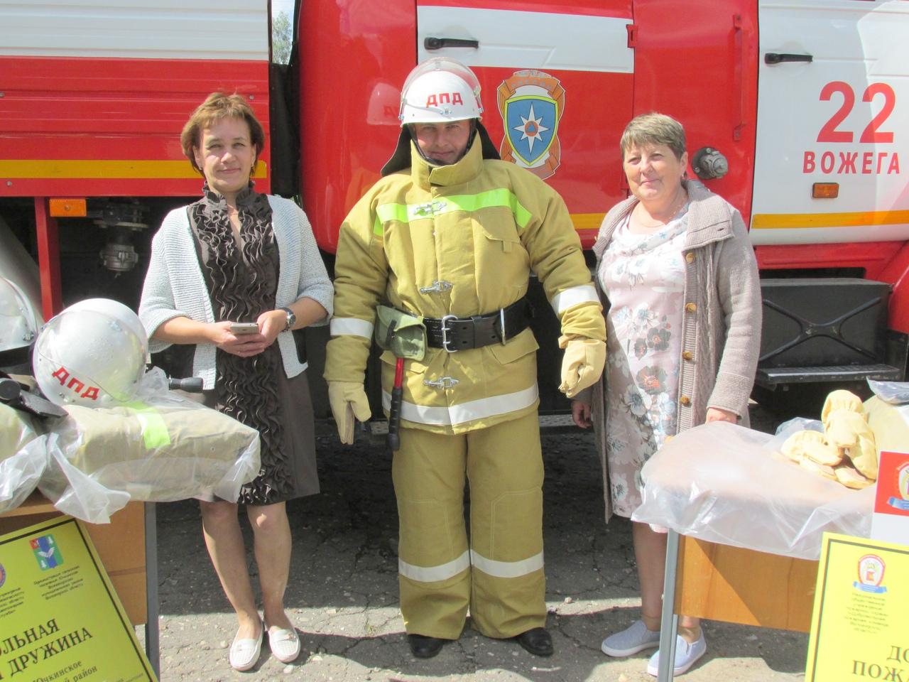 Професиональная подготовка руководителей добровольной пожарной дружины