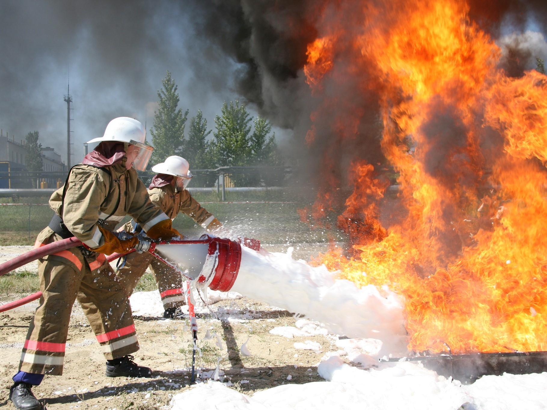 Професиональная подготовка членов добровольной пожарной дружины